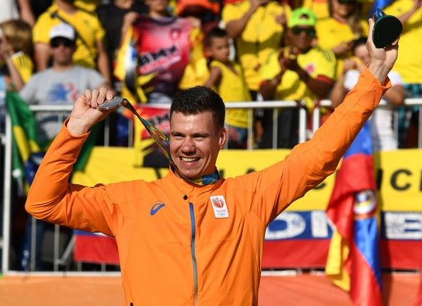 Jelle van Gorkom won the silver medal at the Rio 2016 Olympics in the BMX Finals. Highlights from 2016.