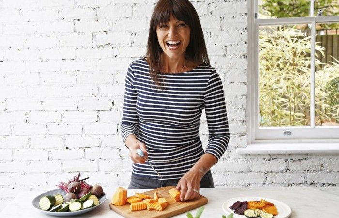 With several cookbooks, fitness DVDs and now a cookware range with Lakeland under her svelte belt, presenter and mum of three Davina McCall offers her healthy eating advice.
