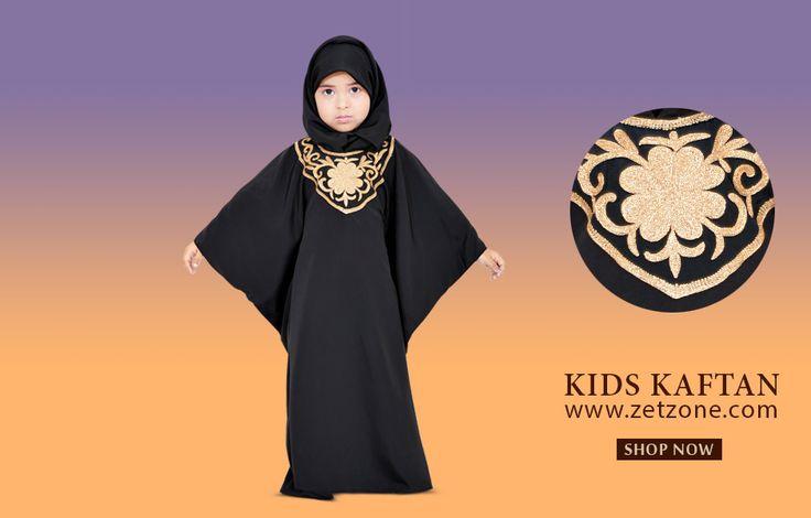 Fashionable Dubai Kids Kaftan by zetzone.com | Size Available 1 Year To 12 Years | Worldwide Shipping Available | Shop Now » https://www.zetzone.com/kids/islamic-kids-wear/Kids-Abaya/Black-Kids-Kaftan
