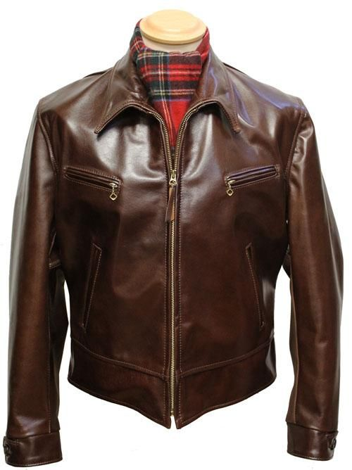 Mid Weight Horsehide Speedway Xl Aero Leathers