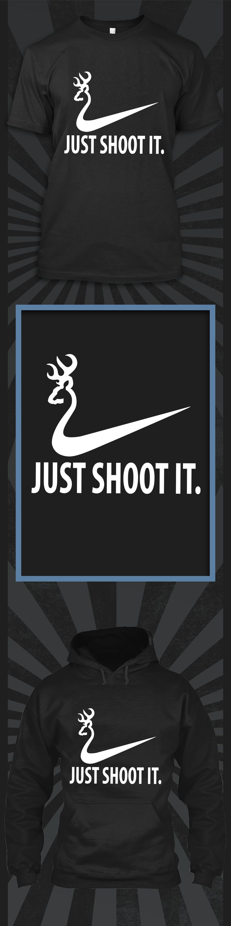 Just Shoot it - Limited edition. Order 2 or more for friends/family & save on shipping! Makes a great gift!
