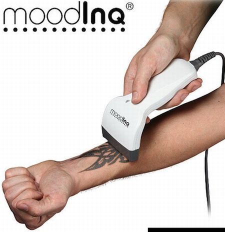 I've always wanted a tatoo, but I'm such a wuss. Apparently you can have a new one everyday with this awesome gadget!