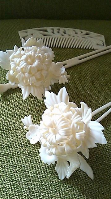 Kanzashi for bride