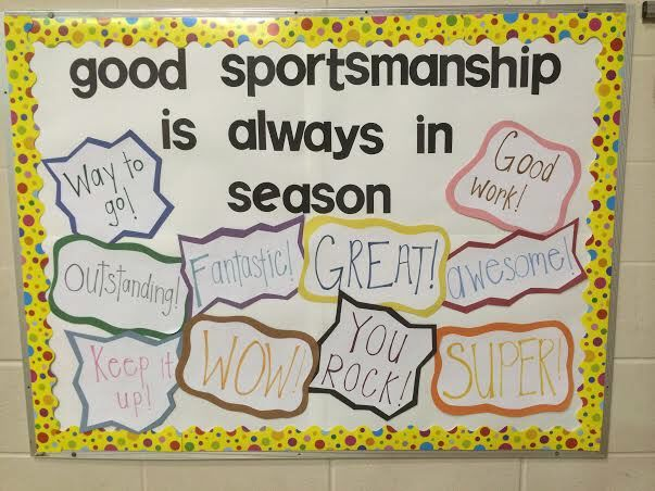 Good Sportsmanship is Always in Season Bulletin Board