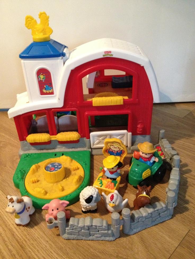 Little People Fairy Treehouse Part - 22: Fisher Price Little People Boerderij Met Geluid