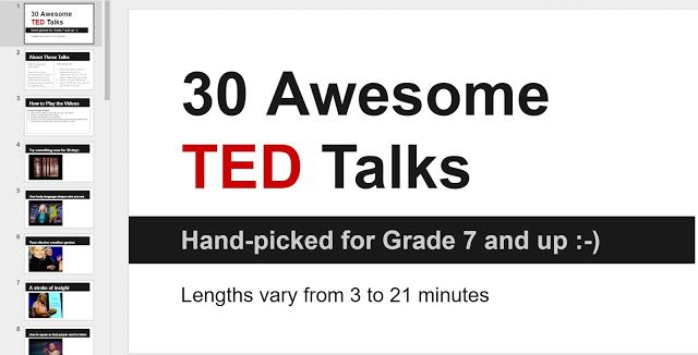 How TED is Transforming my English Class - Post