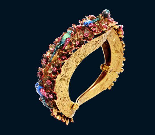 designer gold bangles, kada