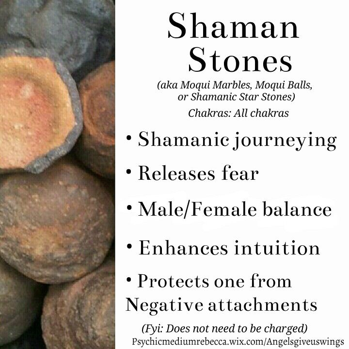 Shaman Stones crystal meaning