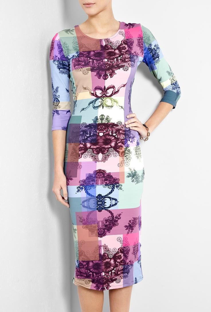 Multicolour Print Daisy Dress by Preen: Multicolour Print, Daisy Dress, Wear Dresses, Print Daisy, Daisies, Jersey Dresses, Preen