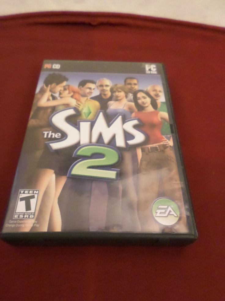 B-916 The Sims 2 PC CD Game Complete Plastic Case, Manual and 4 Discs (PC, 2004)