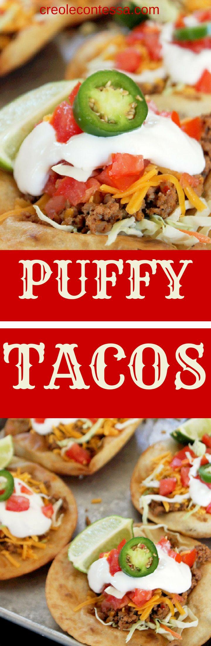 Puffy Tacos-Creole Contessa