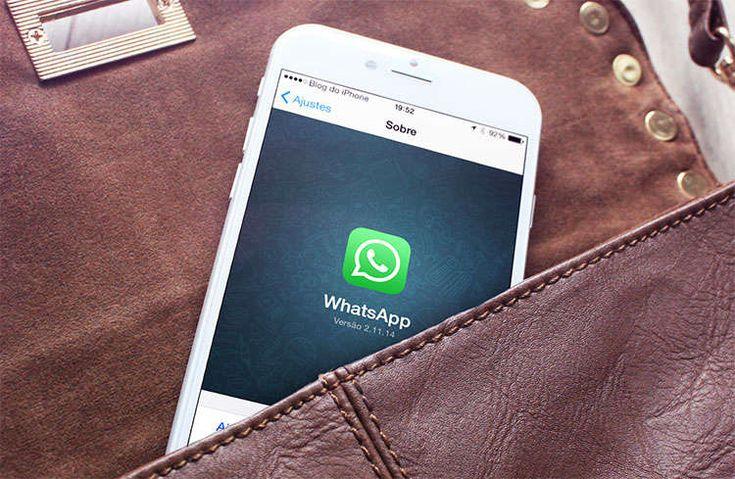 Nova forma de encaminhar mensagens em atualização do WhatsApp para iPhone