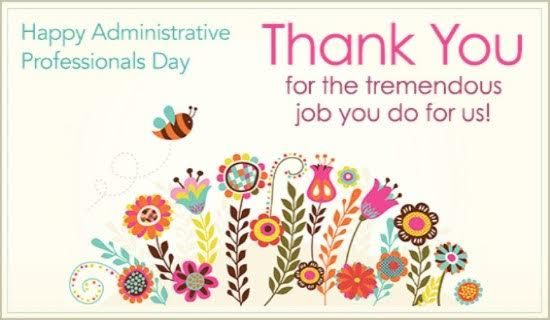 Thank You Quotes For Administrative Professionals Day: 25+ Best Ideas About Today Is National On Pinterest