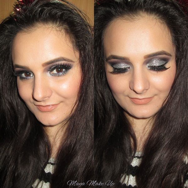 Holiday Make-up Series #2: Celestial Silver