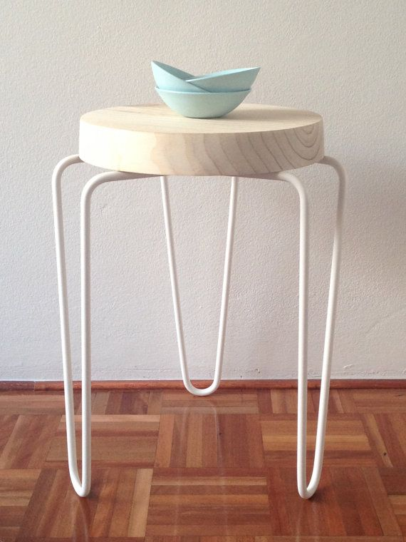 Wood u0026 Metal Stool by lanibeale on Etsy & 61 best Stool images on Pinterest | Stools Chairs and ... islam-shia.org