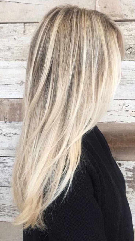 nuances de blond : image result for bright blonde balayage