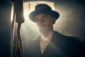 "Paul Anderson as Arthur Shelby in the BBC's ""Peaky Blinders.""."