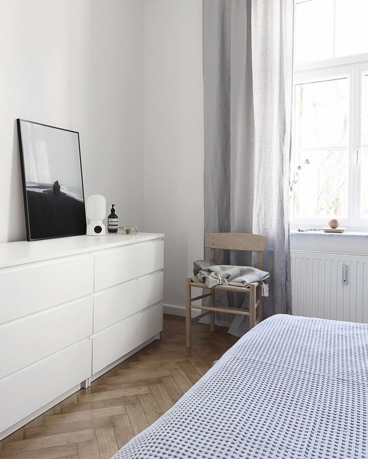 'Black Beach' print in our bedroom #cocolapine