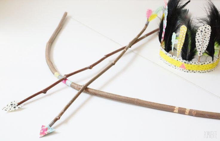 Fabriquer un arc et des flèches