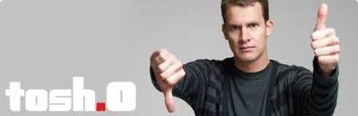 is it weird I have a crush on Tosh? lol