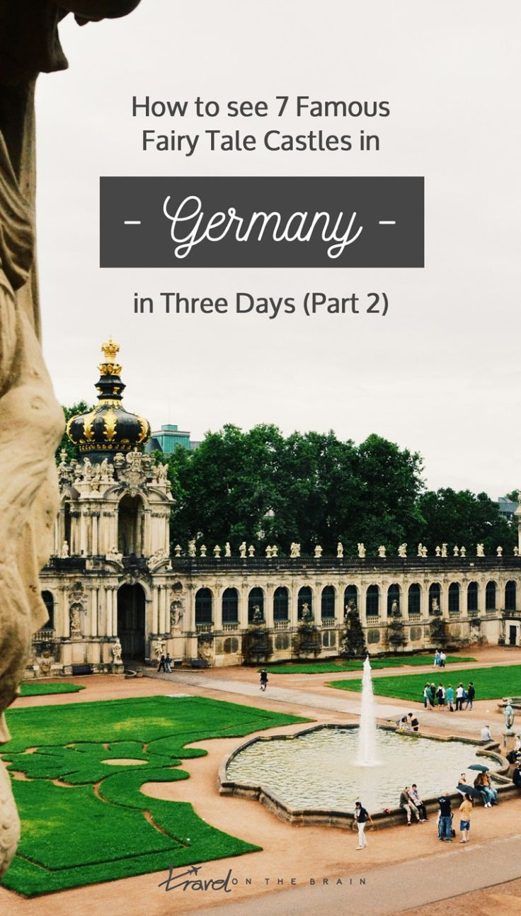 How to see 7 Famous Fairy Tale Castles in Germany in three days (part 2) #sponsored