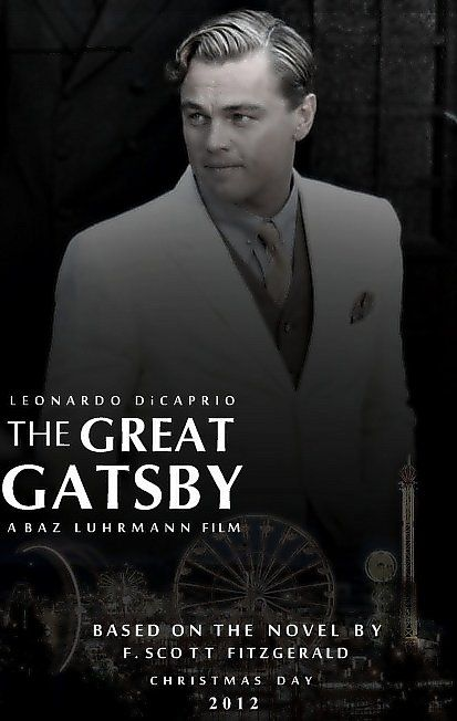 see the movie the great gatsby! comes out dec 2012   Nick Carraway, a Midwesterner now living on Long Island, finds himself fascinated by the mysterious past and lavish lifestyle of his neighbor, Jay Gatsby. He is drawn into Gatsby's circle, becoming a witness to obsession and tragedy.  Leonardo DiCaprio yum