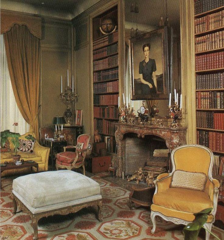 Duke And Duchess Of Windsor Library, House Of Windsor Paris