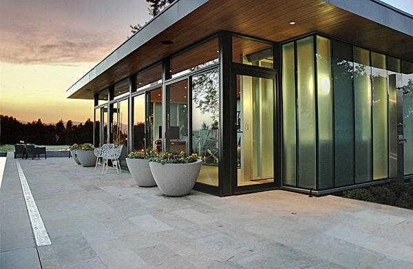 K + K Pool House by Semple Brown Design, P.C.Semple Brown, Spaces Ideas, Fabulous Architecture, Pools House, Pool Houses, Brown Design