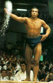 Chiyonofuji Misugu: 'The Wolf'. Legendary Sumo champion.