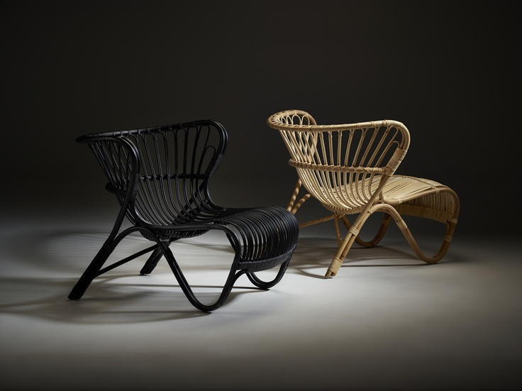 Photo: Skovdal.dk  Sika-Design is proud to be the first to bring a Viggo Boesen design back into the market. FOX lounge chair is the first of many furniture pieces from this pioneer in organic furniture design.  www.sika-design.com