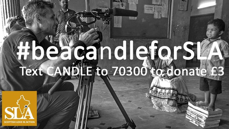Watch 'Lighting candles for India' at www.sla-india.org about The Light of Love Home & School in the town of Tuni, India. We found it humbling and moving. For the cost of a coffee you can feed a child for one week. Text CANDLE to 70300 to donate £3. ‪#‎beacandleforSLA‬