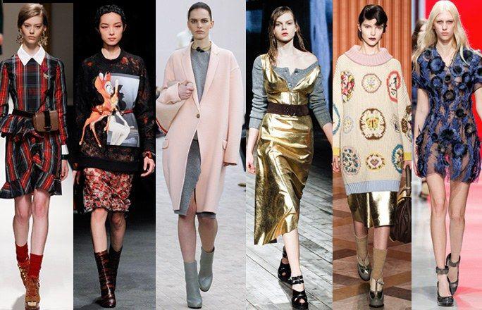 Tendenze moda autunno inverno 2013 - 2014
