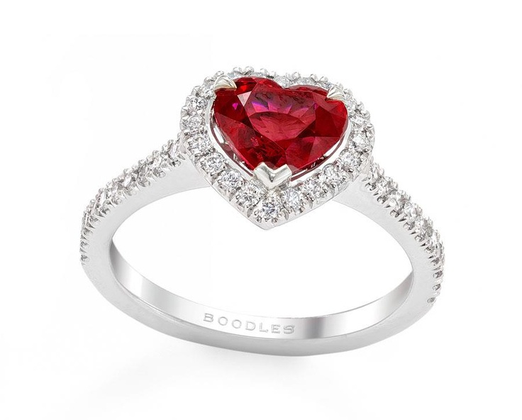 """Boodles Ring """"VALENTINES"""""""