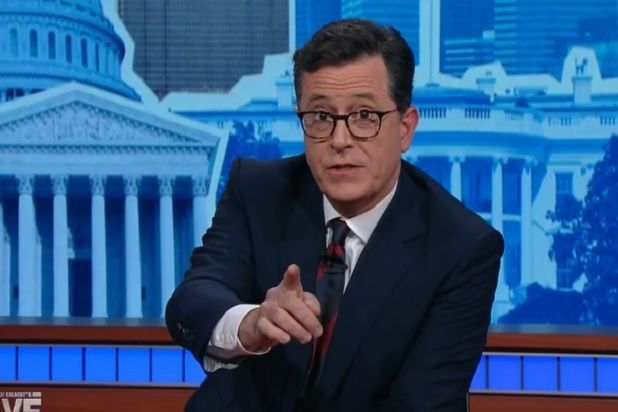 Stephen Colbert Consoles Americans With Heartfelt Speech After Trump Victory
