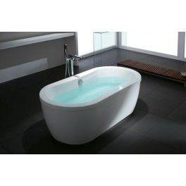 Sydney Freestanding Bath This freestanding bath with a contemporary minimalistic design is ideal for a medium sized bathroom.  Description:  Dimension (MM): Bathtub1600 x 810 x 580