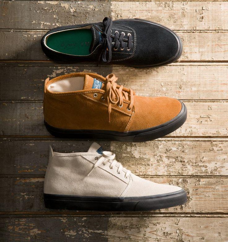 Collection capsule de chaussures de Sperry & YMC