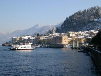 The historical centre of bellagio is wonderful in winter