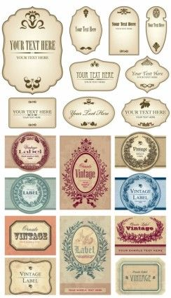 European label vector free download
