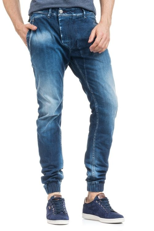 Salsa Store - Jeans Chad 1st Level estilo chino e punho no tornozelo