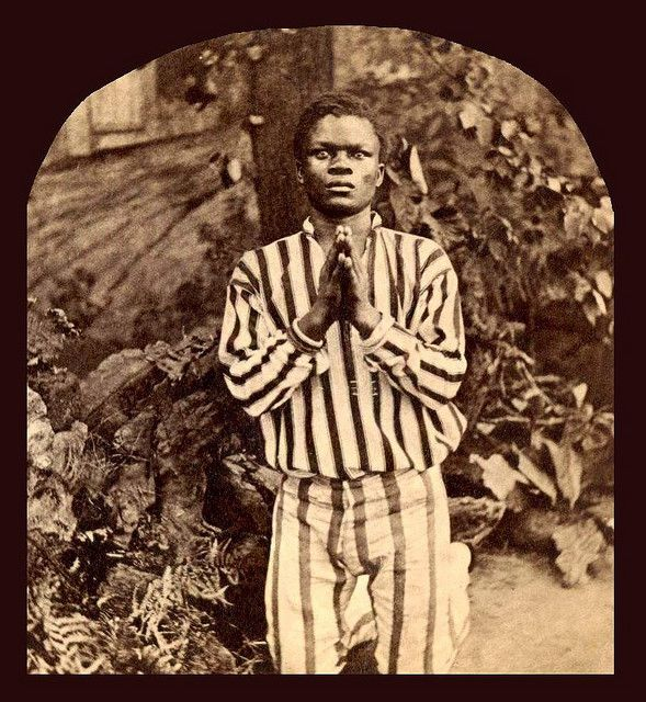 """January 1, 2013 marks the 150th anniversary of the Emancipation Proclamation.  [Written on the back of this 1860s photograph] : """"...Oh, let me live in Freedom's Land, or die if still a slave...."""".  SLAVES, EX-SLAVES, and CHILDREN OF SLAVES IN THE AMERICAN SOUTH, 1860 -1900"""