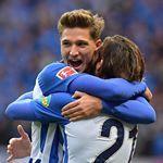 Hertha BSC bekam für das Spiel gegen Hamburg großes Lob von den Fans