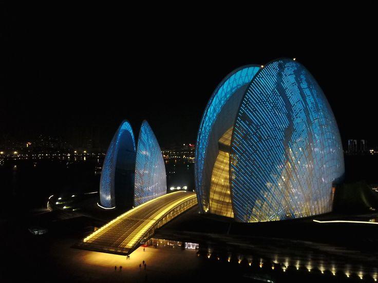 Zhuhai Opera, Zhuhai, China - Finally it's completed - Zhuhai Opera.
