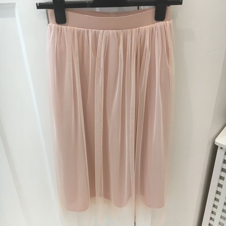 f4d7636339 Gorgeous blush pink tulle skirt from H M size 8 Sold out   - Depop £10