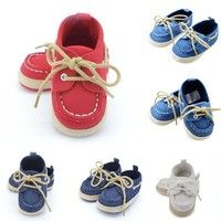 Wish | Infant Toddler Sneaker Baby Boy Girl Crib Shoes Newborn to 18 Months