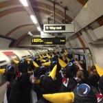 I tifosi dell'Hartlepool in trasferta vestiti da pinguini   Football a 45 giri