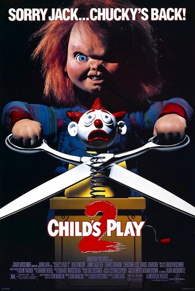 My sister Daisy hasn't seen any Chucky Movies but she really wants to But sadly my Mum will not let her.