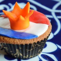 Koningsdag / troonswisseling / Koninginnedag cupcakes!