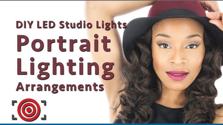 Portrait Lighting Arrangements for the DIY LED Studio Lights