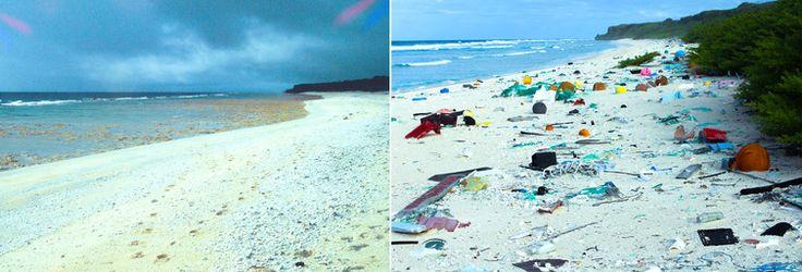 Pristine paradise to rubbish dump - https://www.deviantworld.com/world/environment/pristine-paradise-rubbish-dump-pacific-island-23-years-apart/