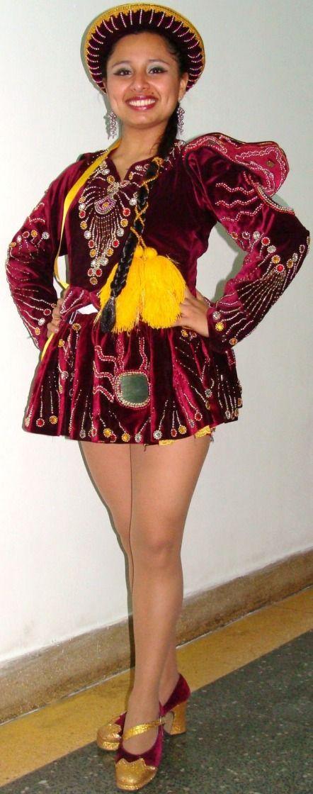 TRAJES TIPICOS DEL PERU Traditional Peruvian Dresses:caporales